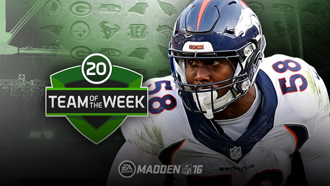 Divisional Team Of The Week Players In Madden Ultimate Team
