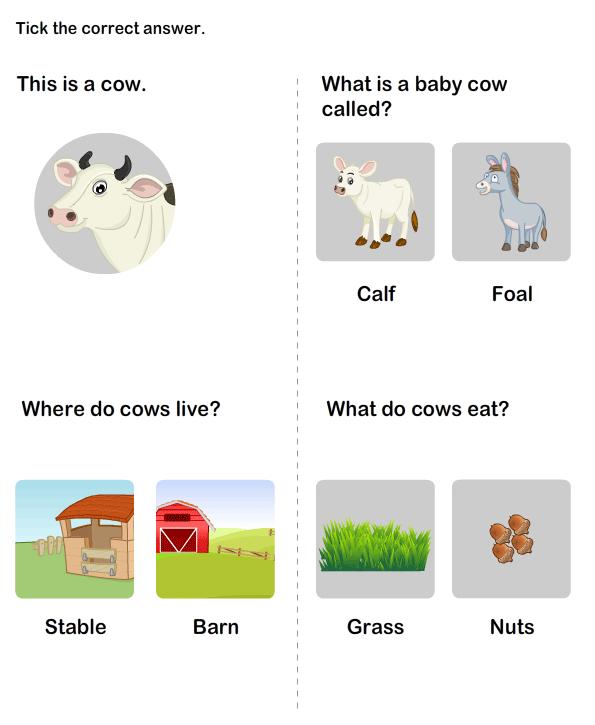 Simple Worksheet Pattern Color