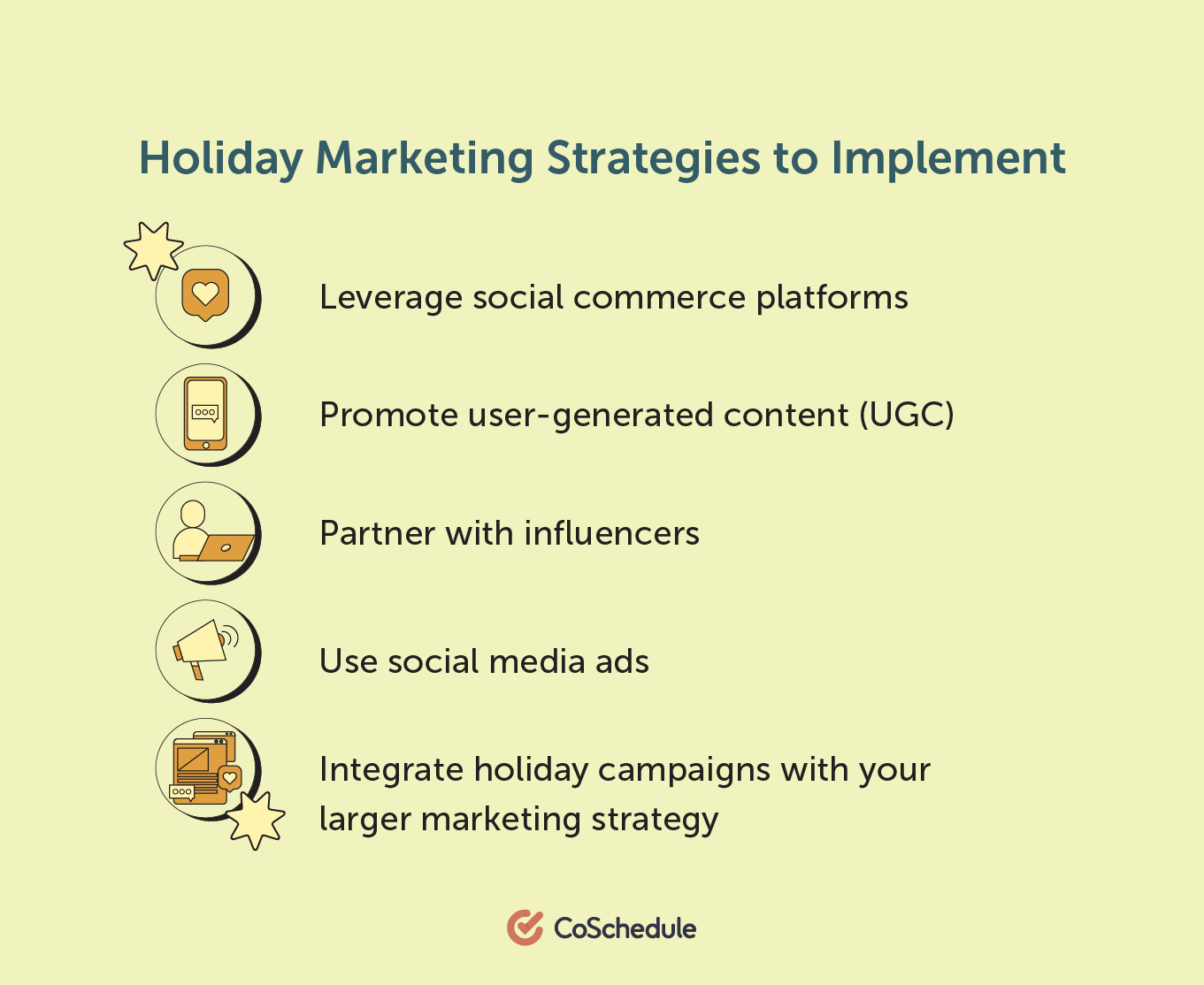 Holiday marketing strategies to implement