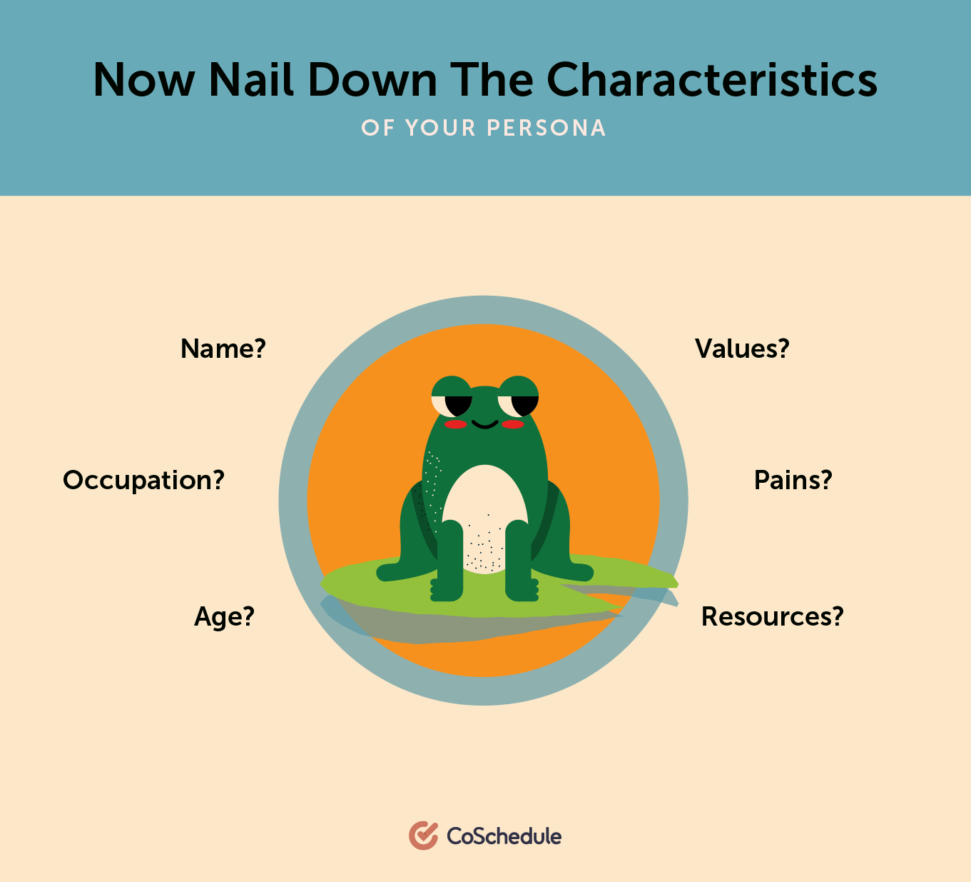 Nail down the characteristics of your persona