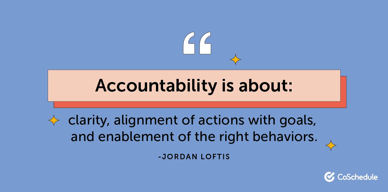 Accountability definition
