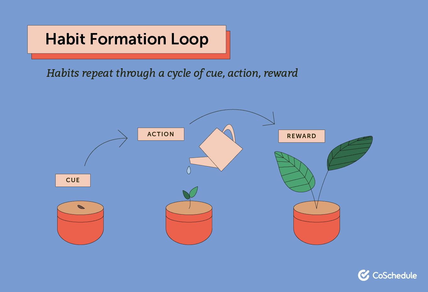 Habit formation loop