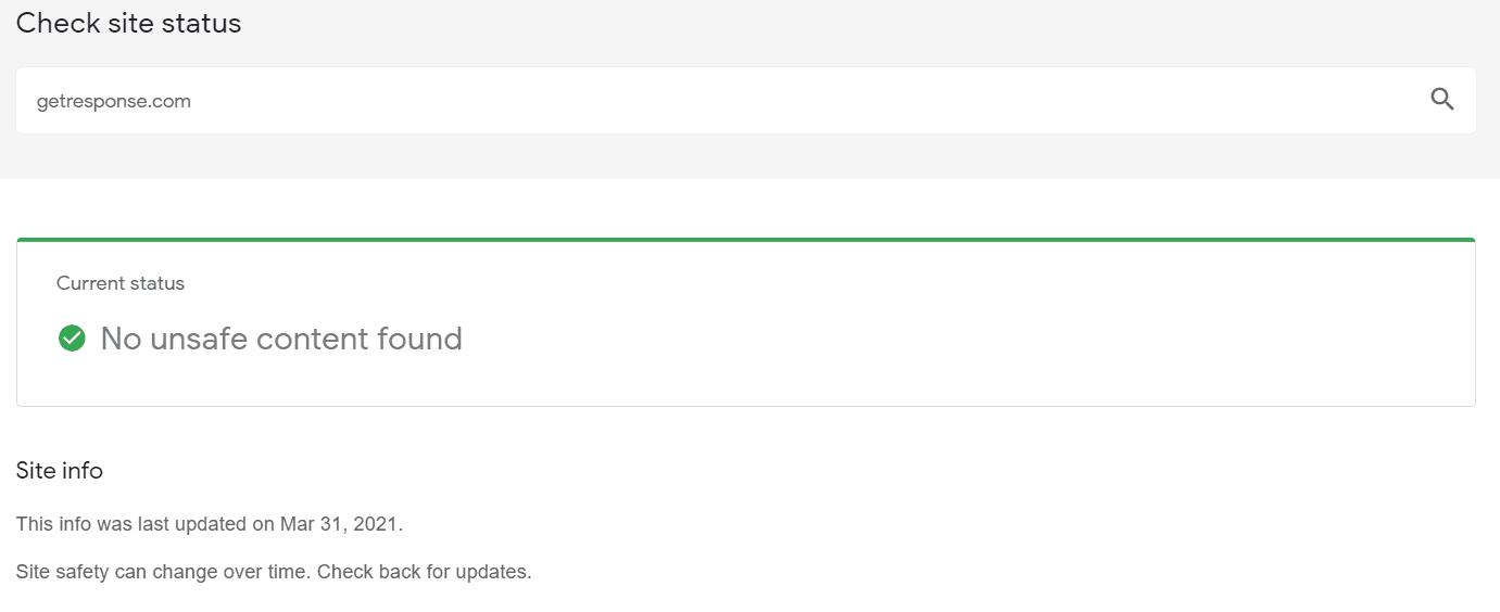 Google transparency report