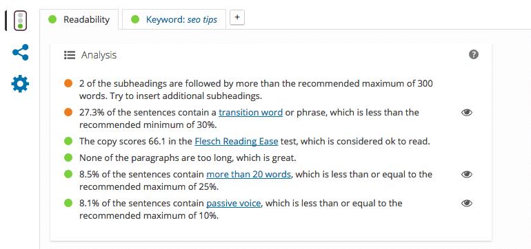 Yoast on wordpress
