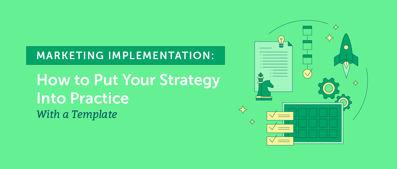 They arise because there may be a new project, new industry trends, or new opportunities to bring your business to a higher level. Marketing Implementation Put Your Strategy Into Practice Template