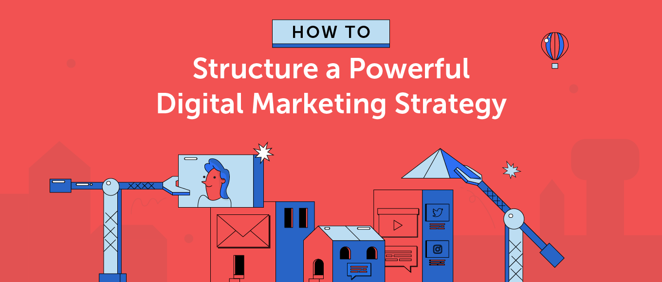 A marketing strategy helps a company effectively use its resources to deliver a sales message to a target audience. How To Structure A Powerful Digital Marketing Strategy Template