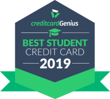 Best student credit card in Canada for 2019 award seal