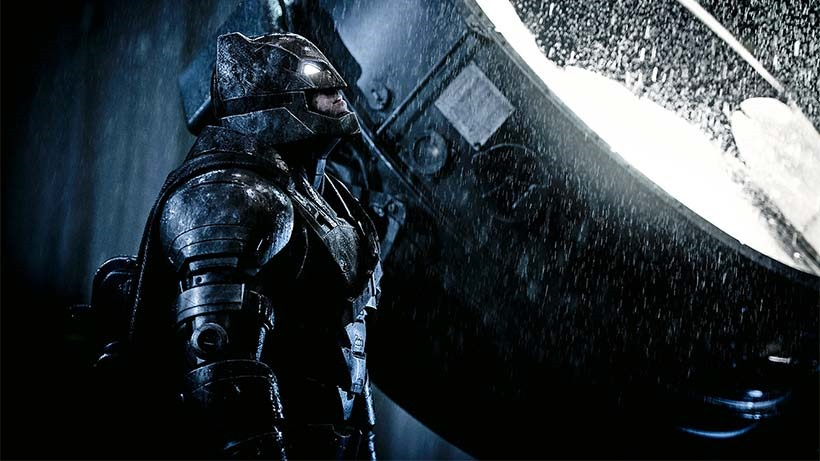 So you want to cosplay as the armoured dark knight from Batman V Superman 1