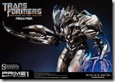 Hail Megatron with this very expensive statue! 1