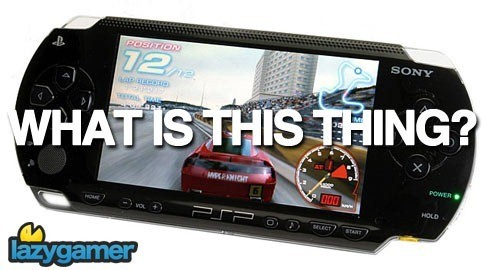 Sony says the PSP confused people 1
