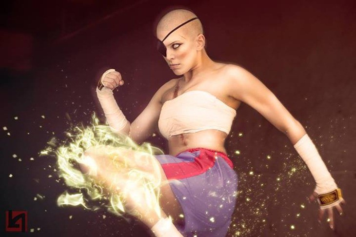 This Sagat cosplay will Tiger uppercut your jaw off the floor 7