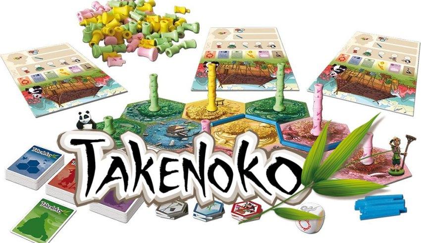 Takenoko review - adorable, accessible fun 2