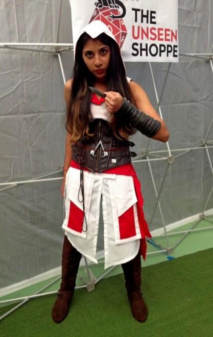 Senkita Cosplay as Ezio.