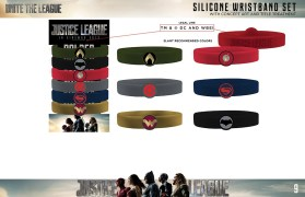 Silicone Wristband Set