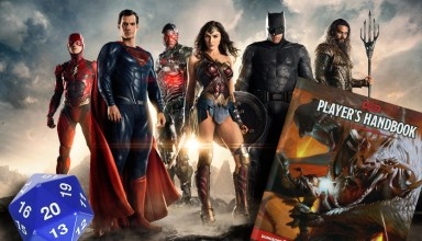 If the Justice League were Dungeons & Dragons adventurers 4