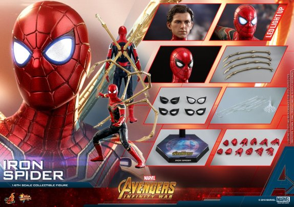 Hot Toys Iron Spider (14)