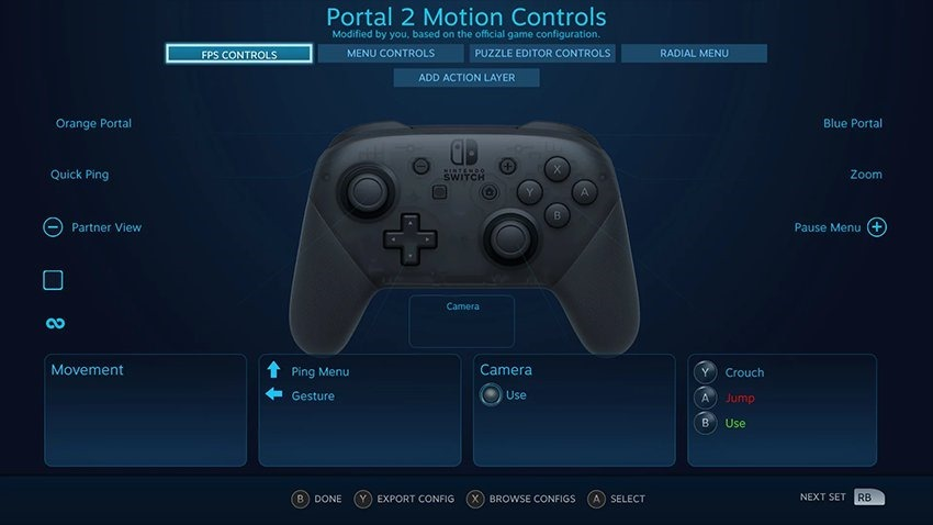 Hooray Steam S Latest Beta Adds Official Switch Pro Controller