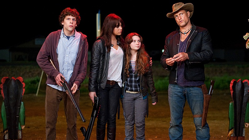 First Zombieland 2 poster reveals full title, older cast 2