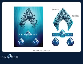 Aquaman_Laptop Stickers