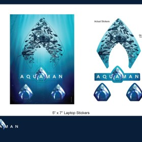 Aquaman_Laptop Stickers