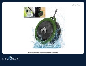 Aquaman_Waterproof Wireless Speaker