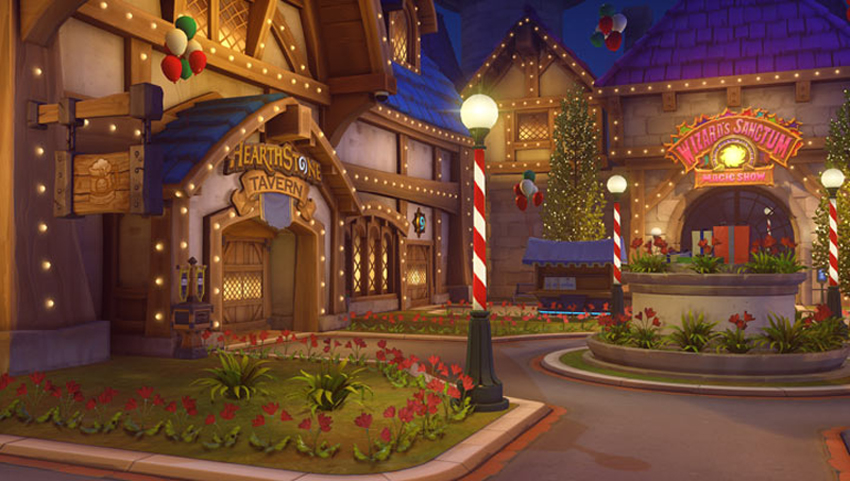 Overwatch S Blizzard World Map Has Been Pulled After Buggy Winter