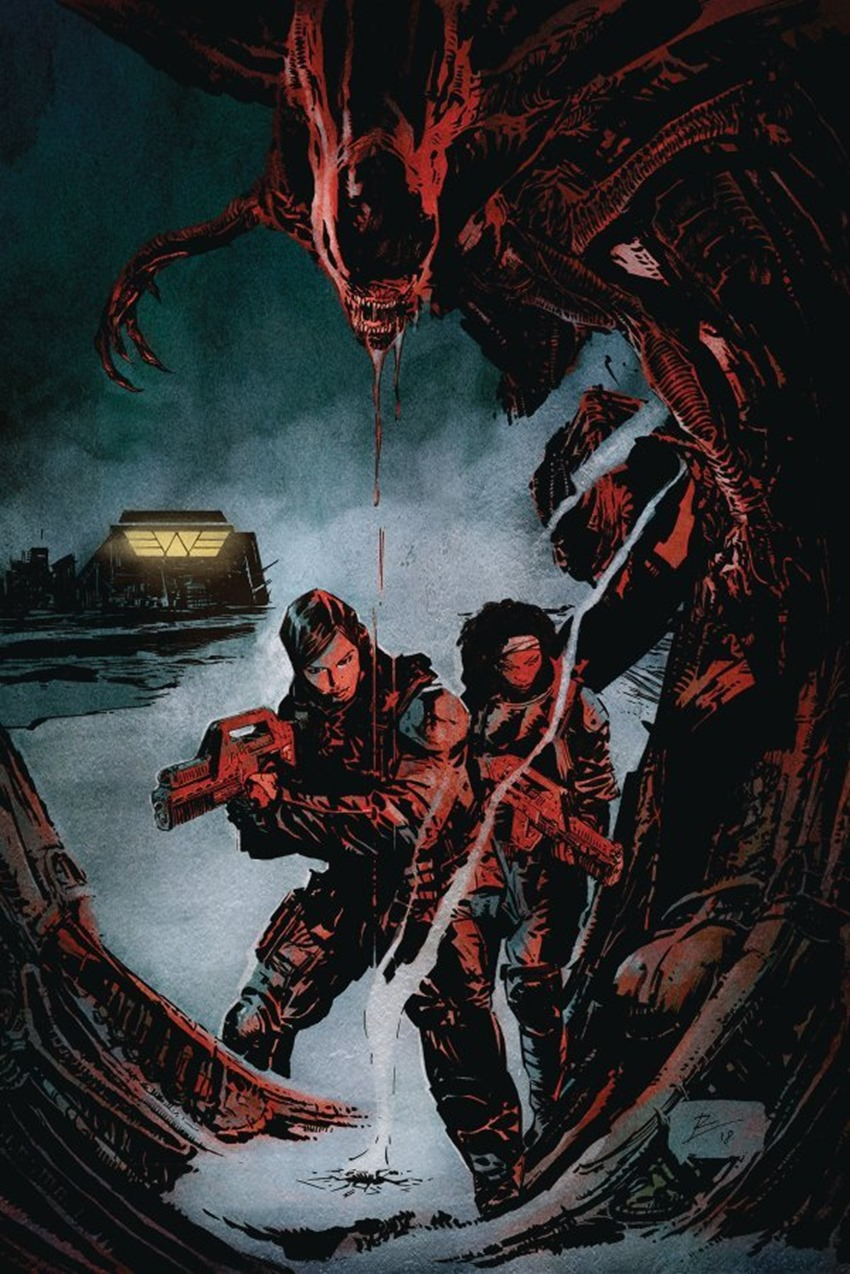 Aliens Resistance #1