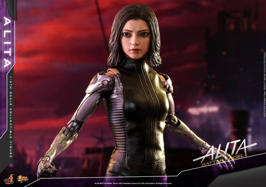 The new Hot Toys Alita: Battle Angel figure can see right into your soul 37