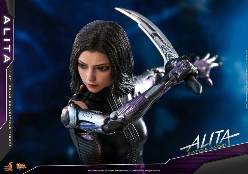 The new Hot Toys Alita: Battle Angel figure can see right into your soul 41