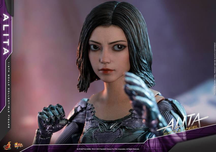 The new Hot Toys Alita: Battle Angel figure can see right into your soul 42
