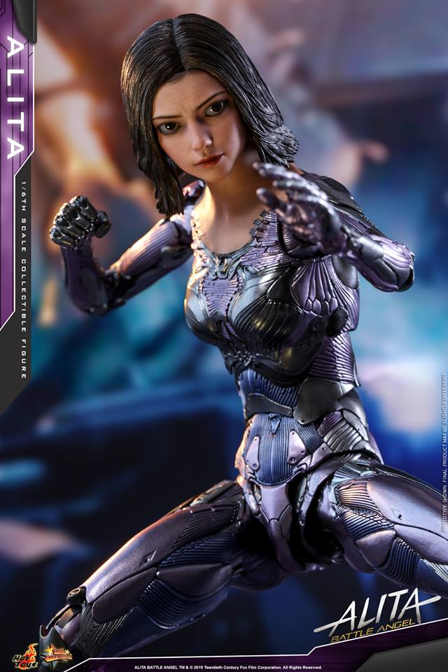 The new Hot Toys Alita: Battle Angel figure can see right into your soul 29