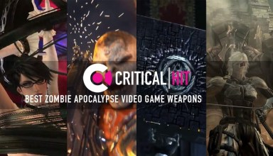 Ten video game weapons that we'd want in a zombie apocalypse 1