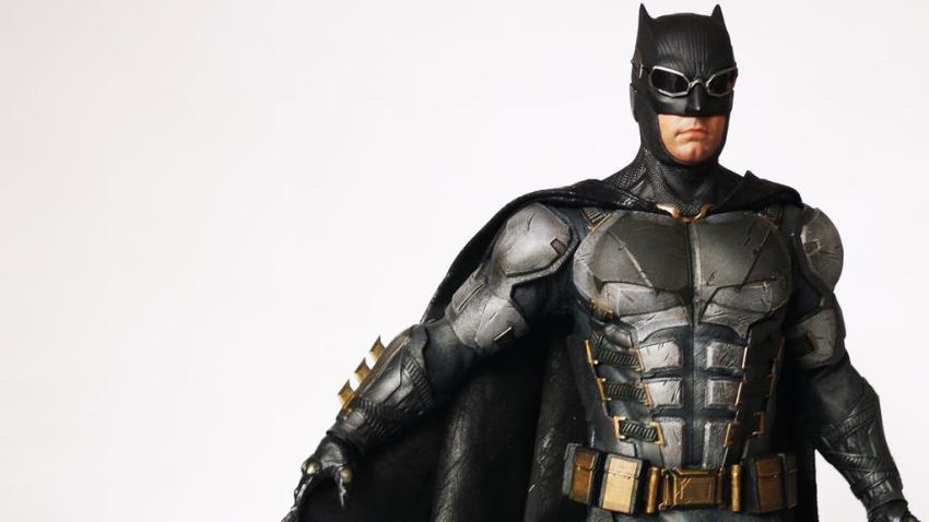 Hot Toys MMS 432 Justice League Batman Tactical Batsuit Review – Bat in Black 36