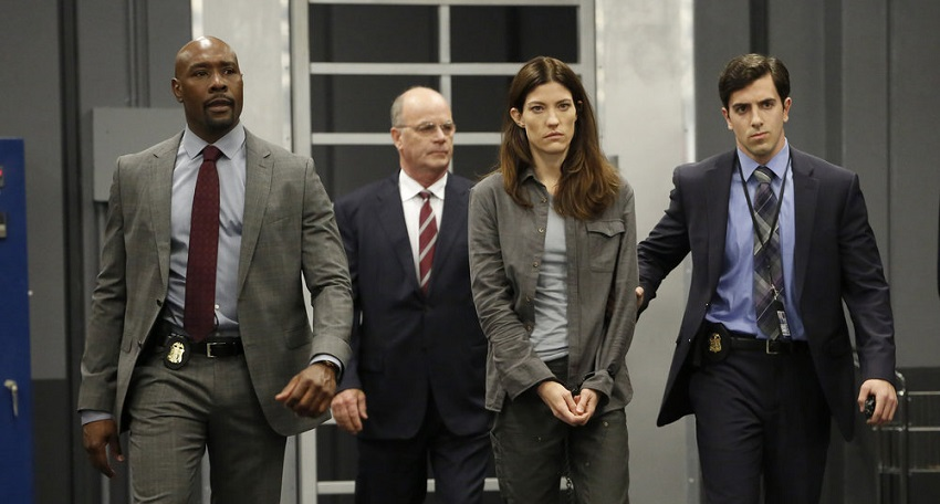 Jennifer Carpenter is the last resort in NBC's thriller series The Enemy Within 3