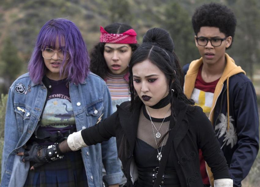 Marvels Runaways Interview – Ariela Barer talks higher stakes for Gert and acting opposite a dinosaur 9