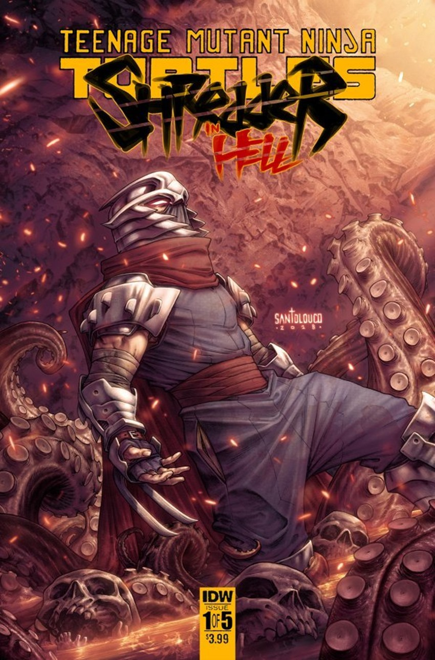 Teenage Mutant Ninja Turtles Shredder in Hell #1