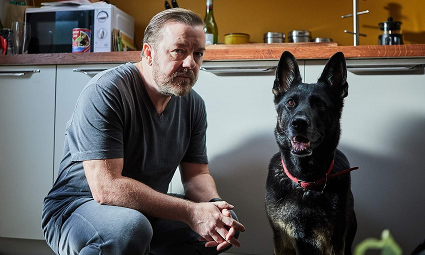 Ricky Gervais is coping with grief as only he knows how in Netflix's After Life 3
