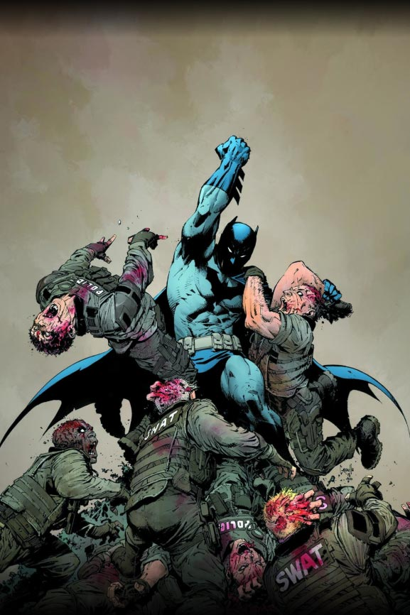 The DC Universe is about get its own zombie apocalypse in DCeased 8