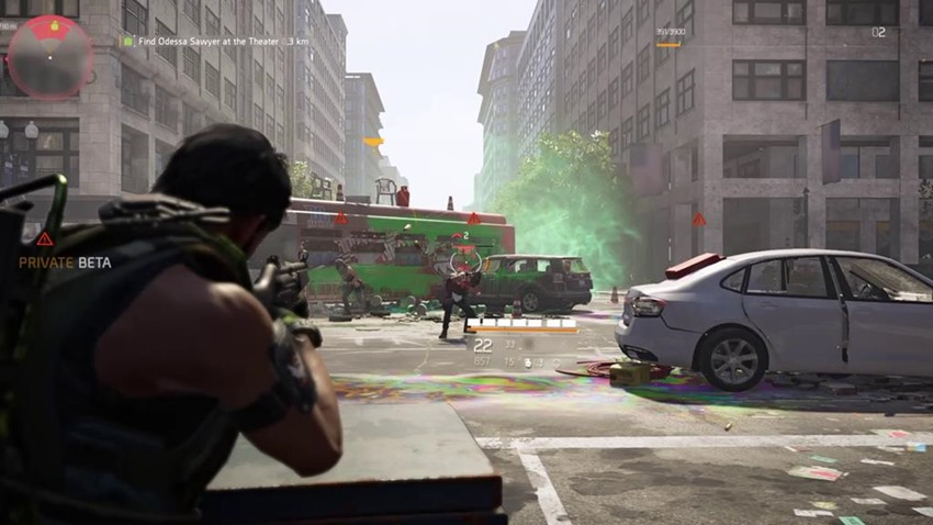 The Division 2 'open beta' casually mentioned on live stream