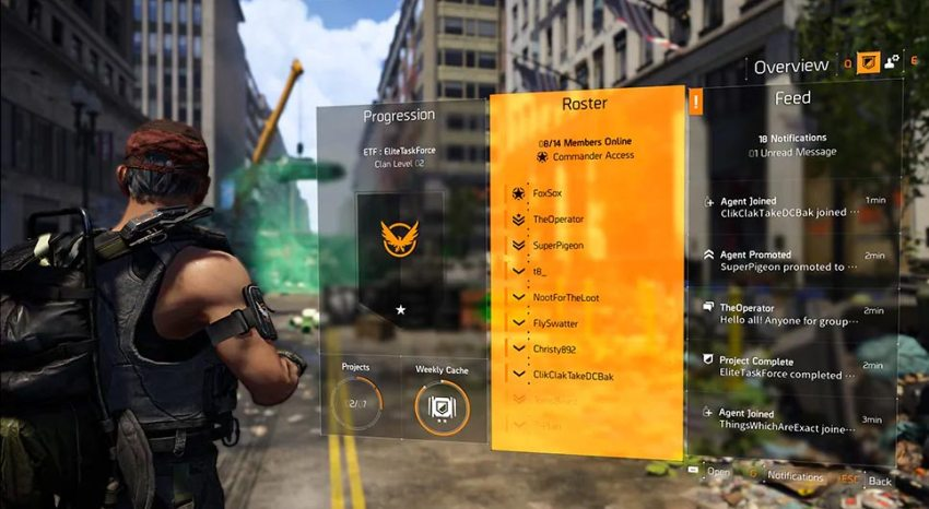 The Division 2 – Ubisoft details how Clans will work 5