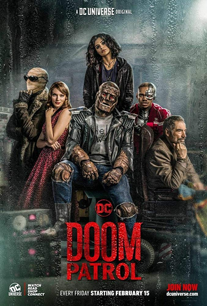 Take a closer look at The Doom Patrol in this extended trailer 4