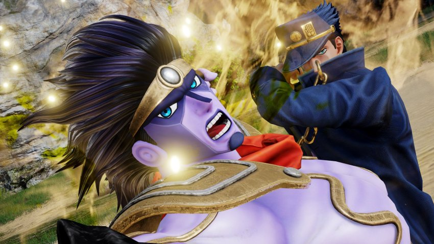 You were expecting other characters to be revealed in Jump Force, but it was me! Dio! 10