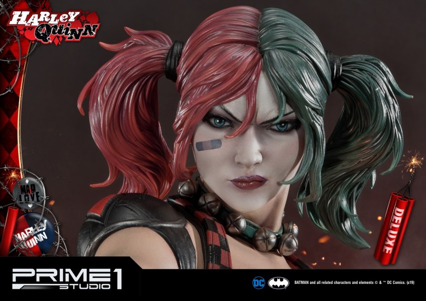 Behold Prime 1's new $1350 Harley Quinn statue, puddin' 54