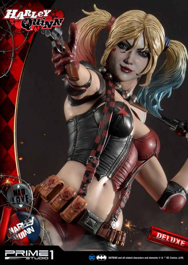 Behold Prime 1's new $1350 Harley Quinn statue, puddin' 34