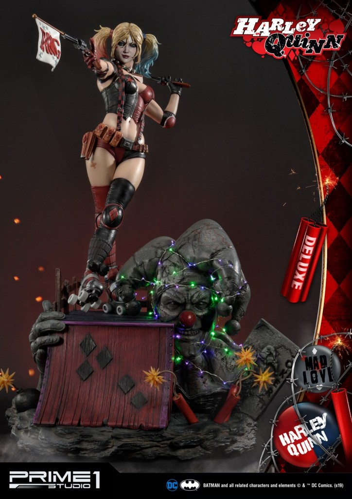 Behold Prime 1's new $1350 Harley Quinn statue, puddin' 36