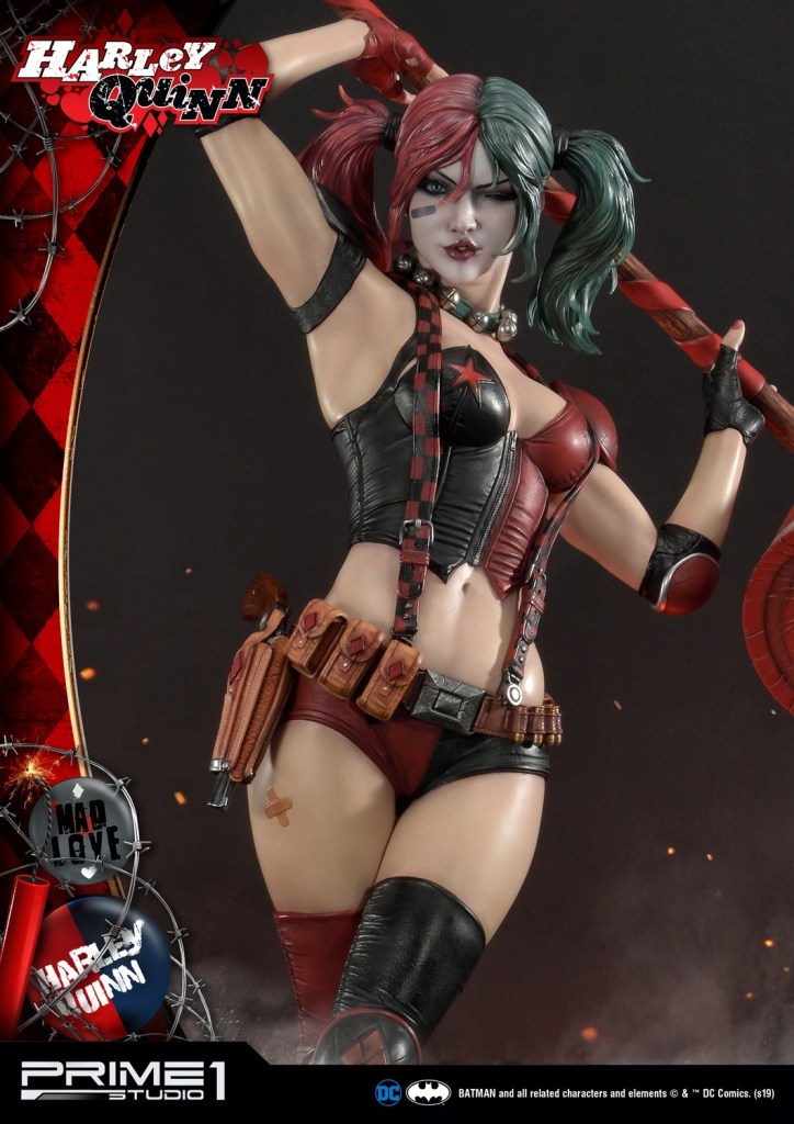 Behold Prime 1's new $1350 Harley Quinn statue, puddin' 39