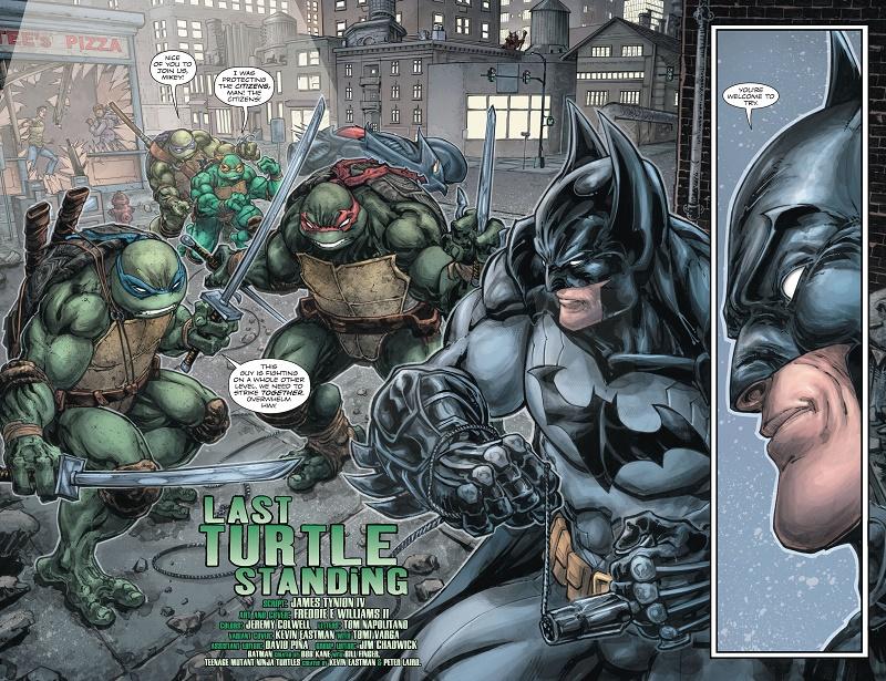 A Batman and Teenage Mutant Ninja Turtles animated cross-over movie is in development 4
