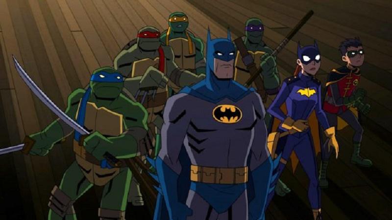 A Batman and Teenage Mutant Ninja Turtles animated cross-over movie is in development 3