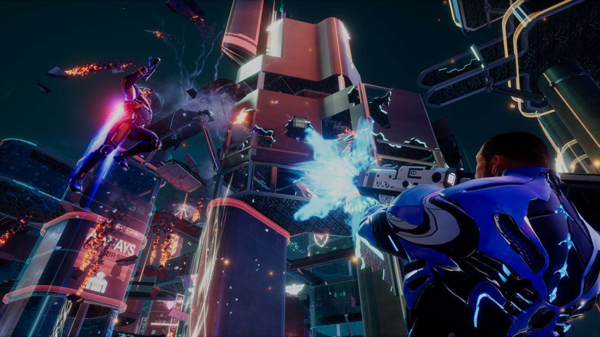Crackdown 3 review - Crews Control 12