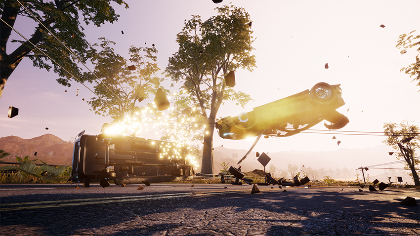 Do some Dangerous Driving this April, thanks to the creators of Burnout 6